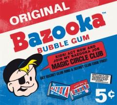 Bazooka Bubble Gum Kaugummi