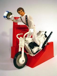 EVEL KNIEVEL Firgur & Motorrad