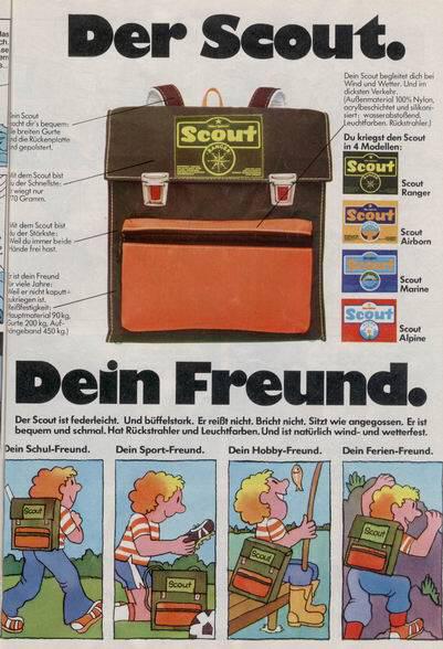 scout schulranzen erinnerst du dich. Black Bedroom Furniture Sets. Home Design Ideas