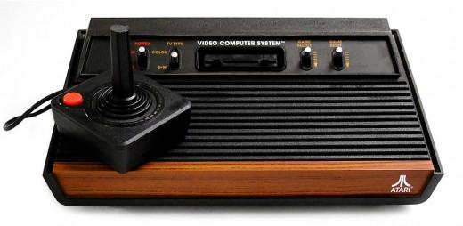 Atari VCS 2600 Spielekonsole