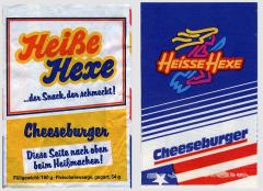 Heiße Hexe Hamburger