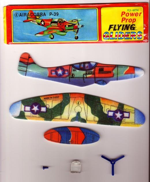 Flying Glider Styroporflugzeug