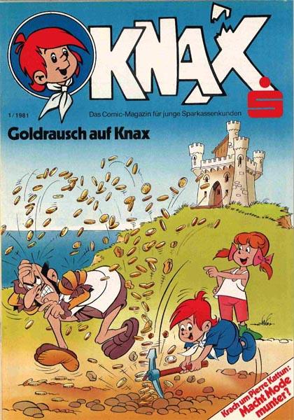 Knax Heft (Sparkassen Comic)