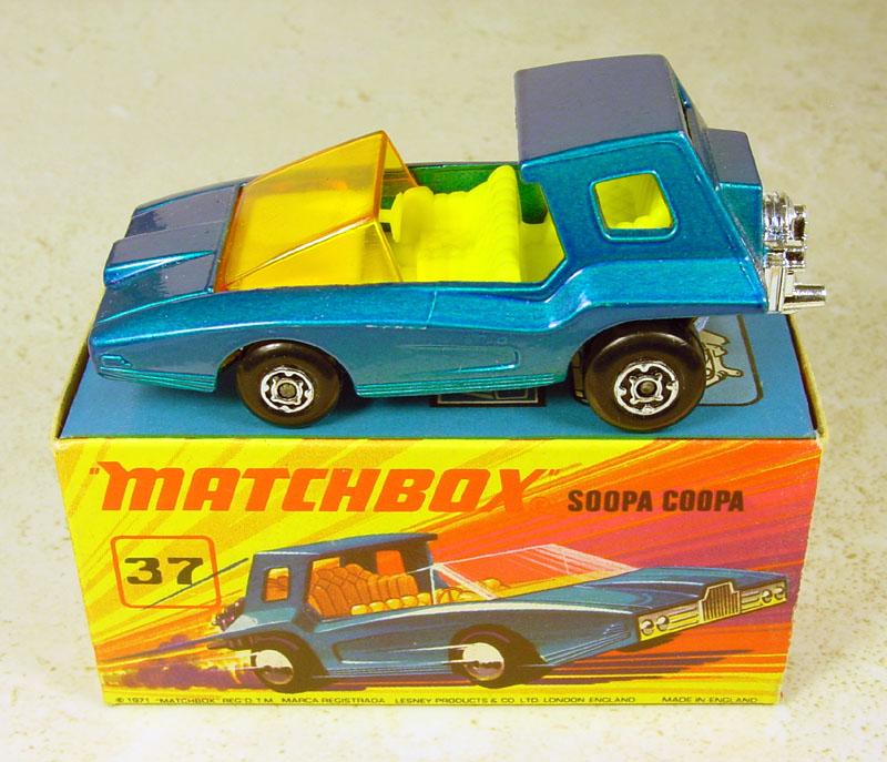 Matchbox Autos 70er