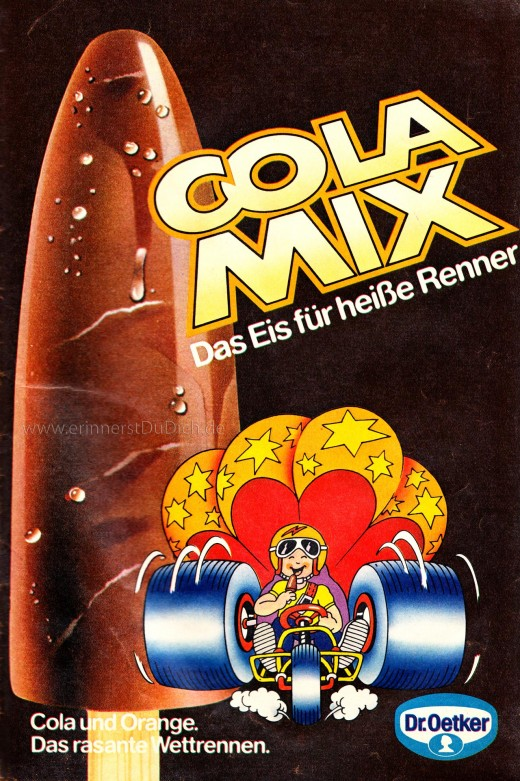 Cola Mix Eis – Dr. Oetker
