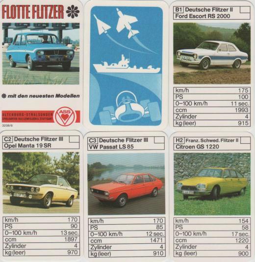 Auto – Quartett