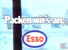 Esso Werbung