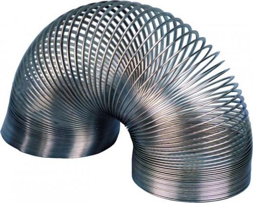 SPRUNGFEDER SPRINGY ( Slinky ) aus Metall