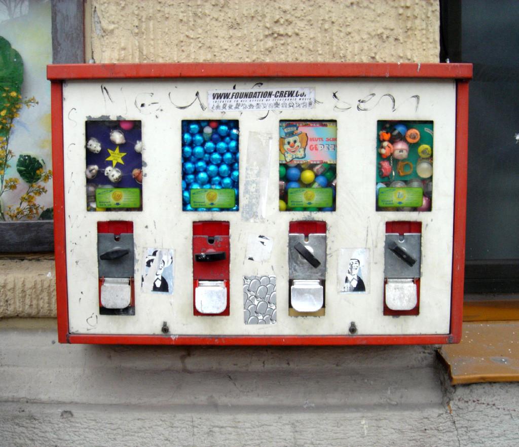 Kaugummiautomat erinnerst du dich