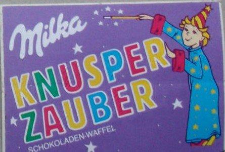 Milka Knusper Zauber