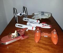 Star Wars Die Cast Raumschiffe