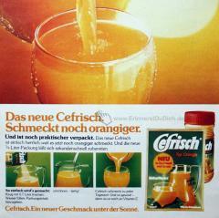 Cefrisch Getränkepulver
