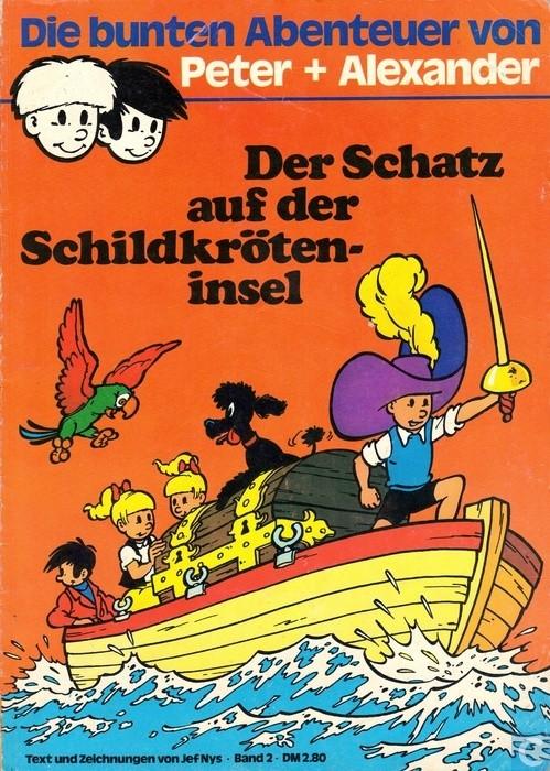 Peter und Alexander (Jommeke) Comic