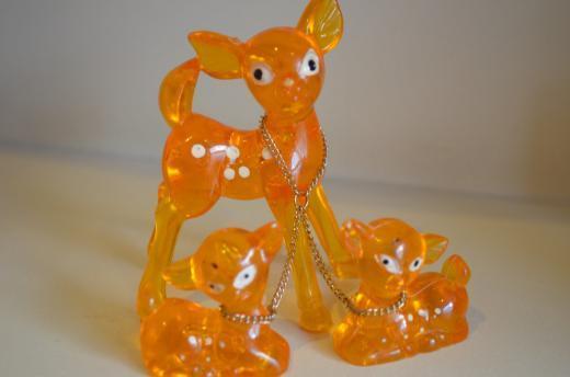 Reh-Tierfamilie-Figuren