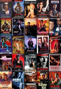 Die besten Actionfilme der 80er Jahre