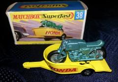 Matchbox Honda + Trailer