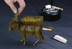 Zigaretten-Esel